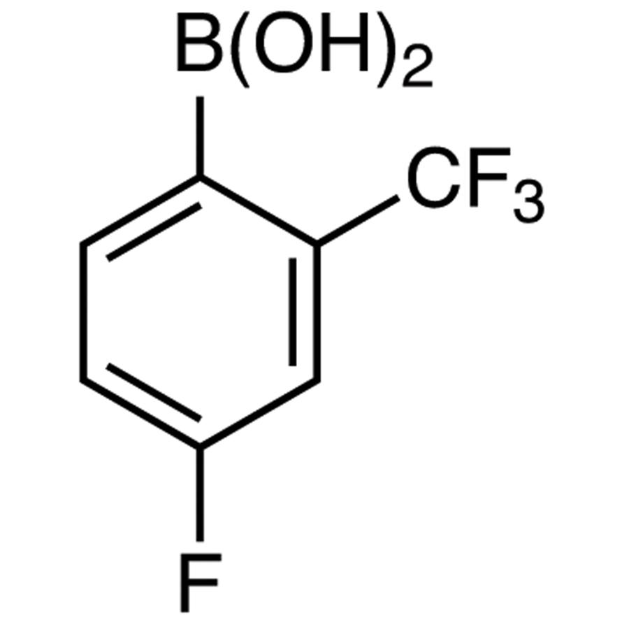 4-Fluoro-2-(trifluoromethyl)phenylboronic Acid (contains varying amounts of Anhydride)