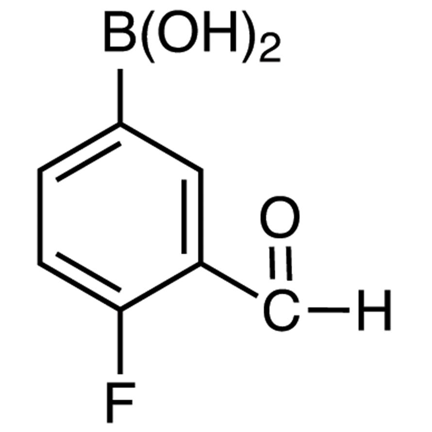 4-Fluoro-3-formylphenylboronic Acid (contains varying amounts of Anhydride)