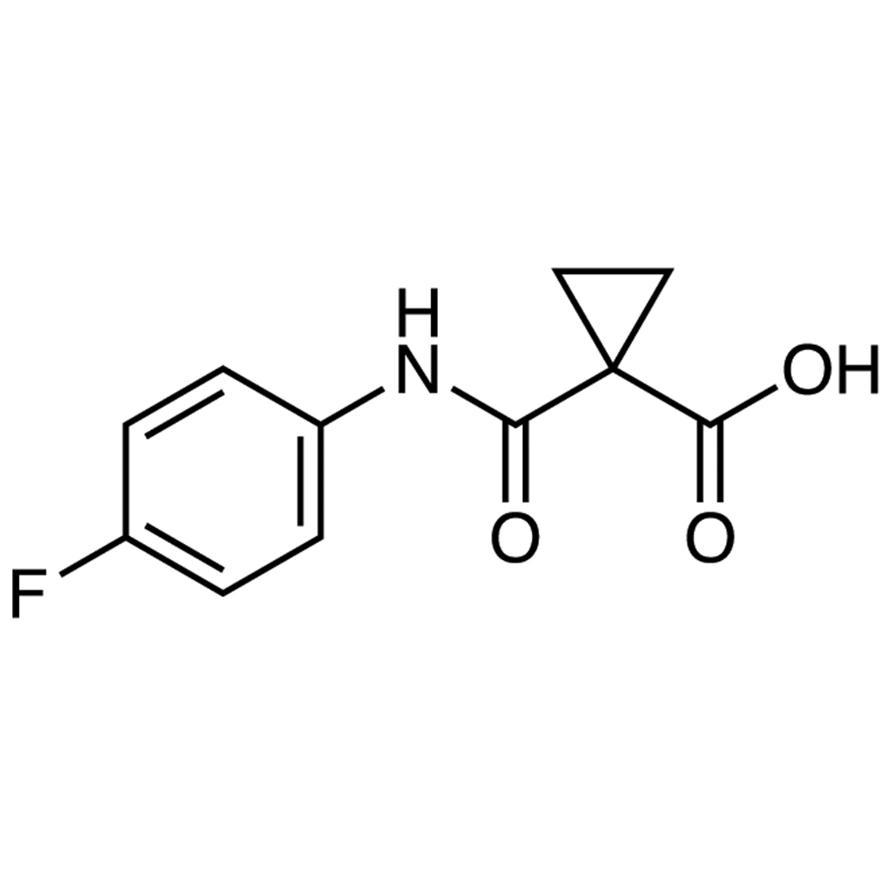 1-[(4-Fluorophenyl)carbamoyl]cyclopropanecarboxylic Acid