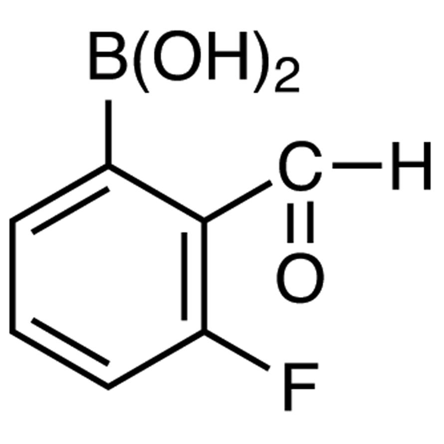 3-Fluoro-2-formylphenylboronic Acid (contains varying amounts of Anhydride)