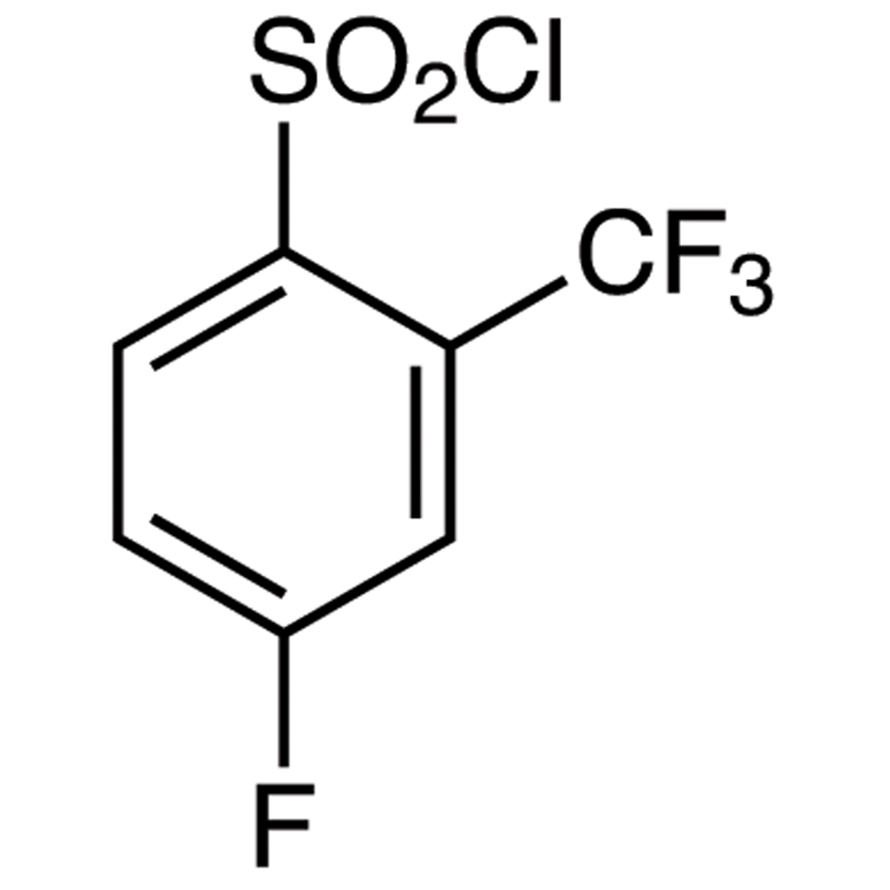 4-Fluoro-2-(trifluoromethyl)benzenesulfonyl Chloride