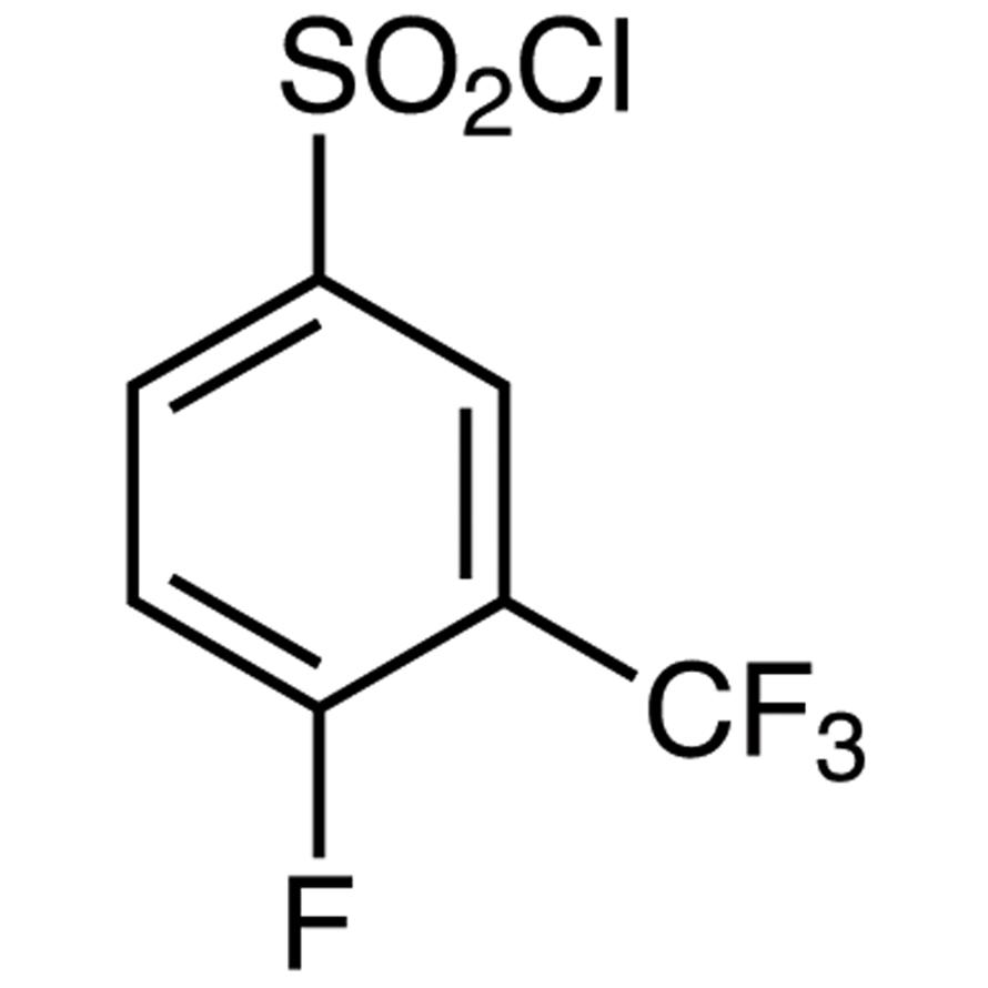 4-Fluoro-3-(trifluoromethyl)benzenesulfonyl Chloride