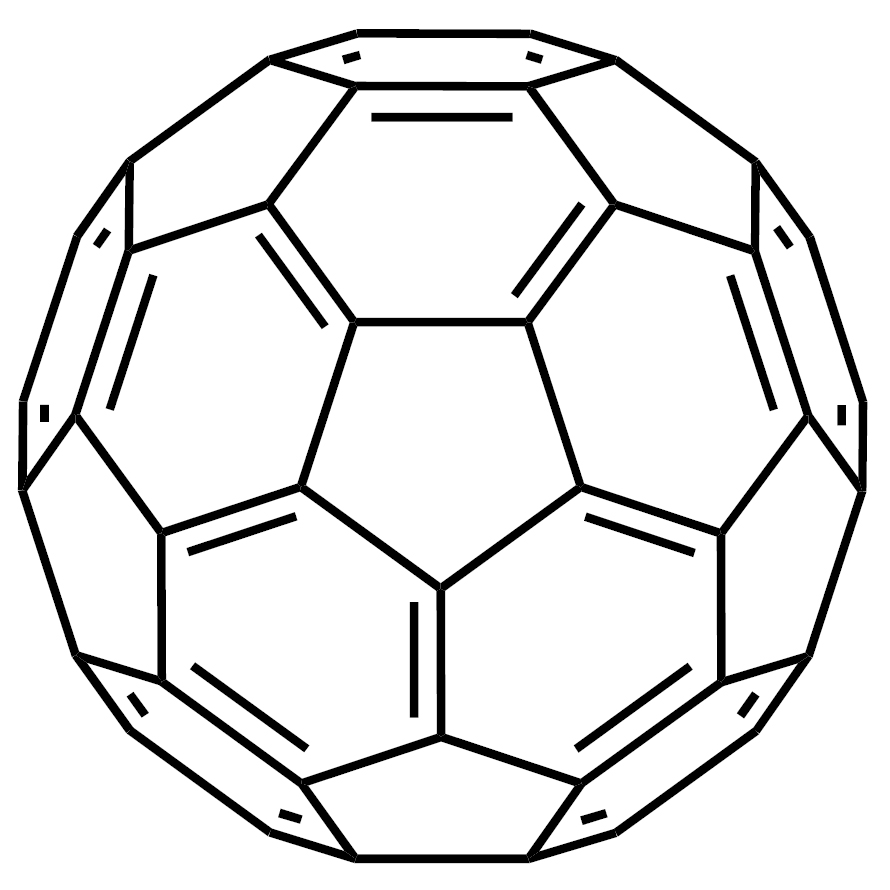 Fullerene C60 (purified by sublimation) [for organic electronics]