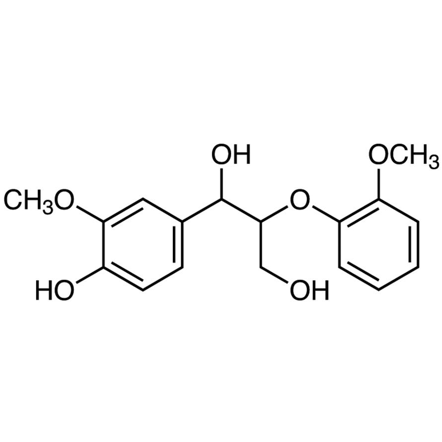 Guaiacylglycerol--guaiacyl Ether
