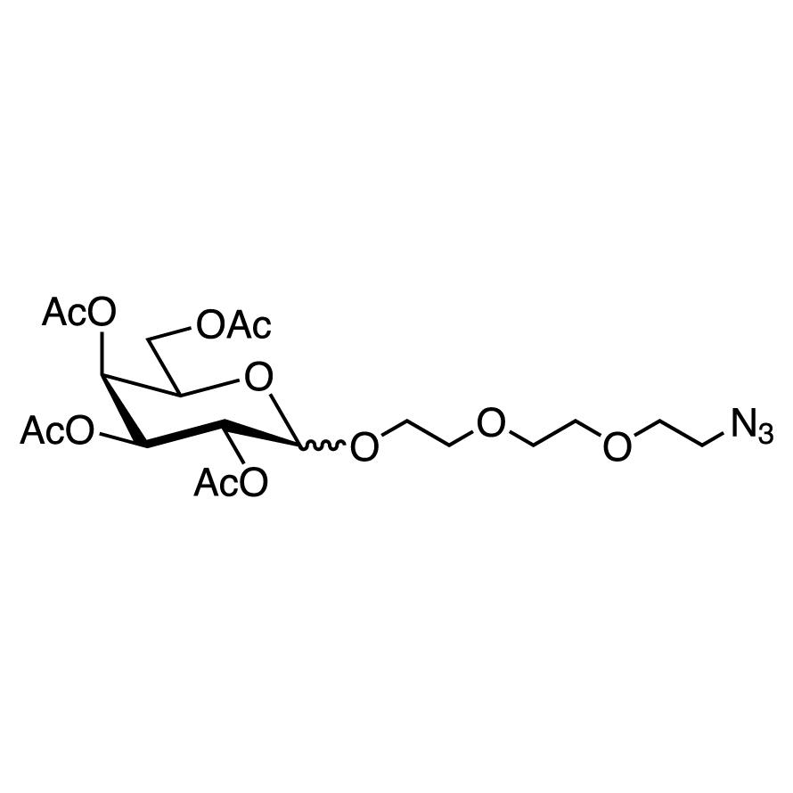 2-[2-(2-Azidoethoxy)ethoxy]ethyl 2,3,4,6-Tetra-O-acetyl-D-galactopyranoside