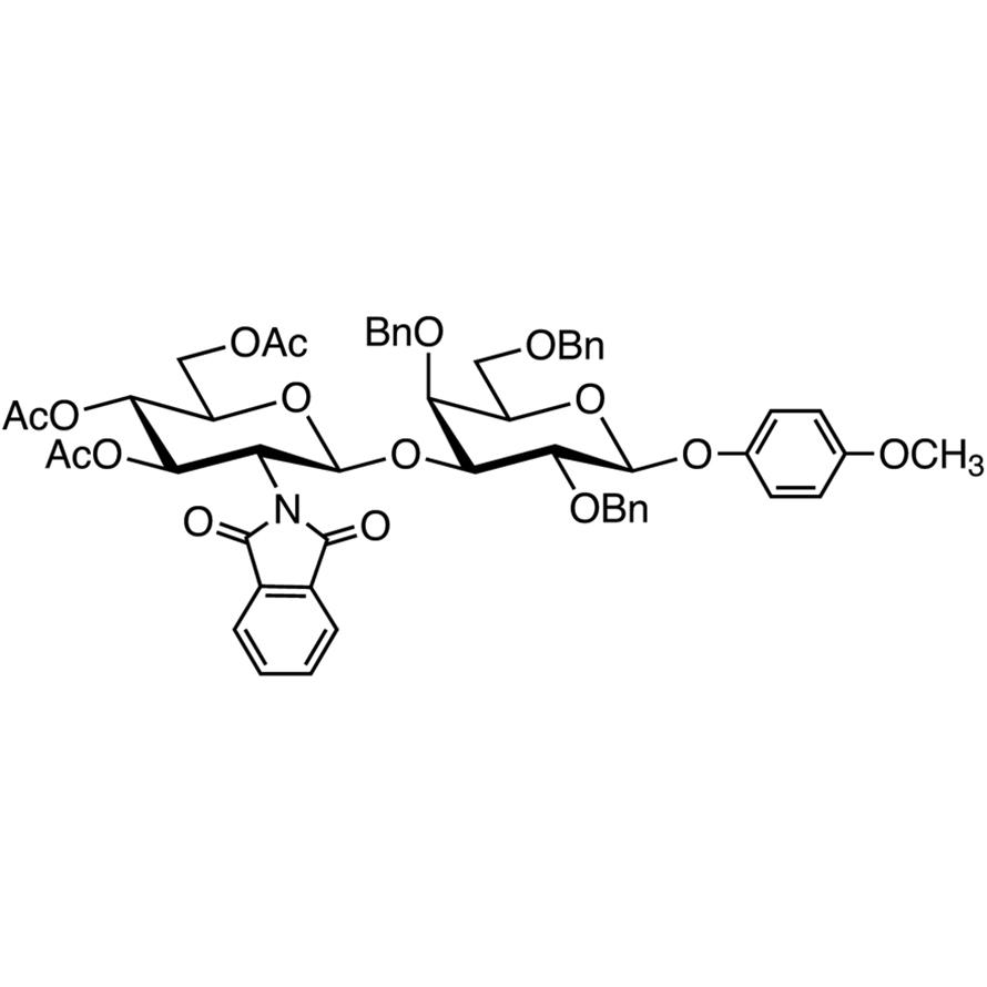 GlcNPhth[346Ac](1-3)Gal[246Bn]--MP