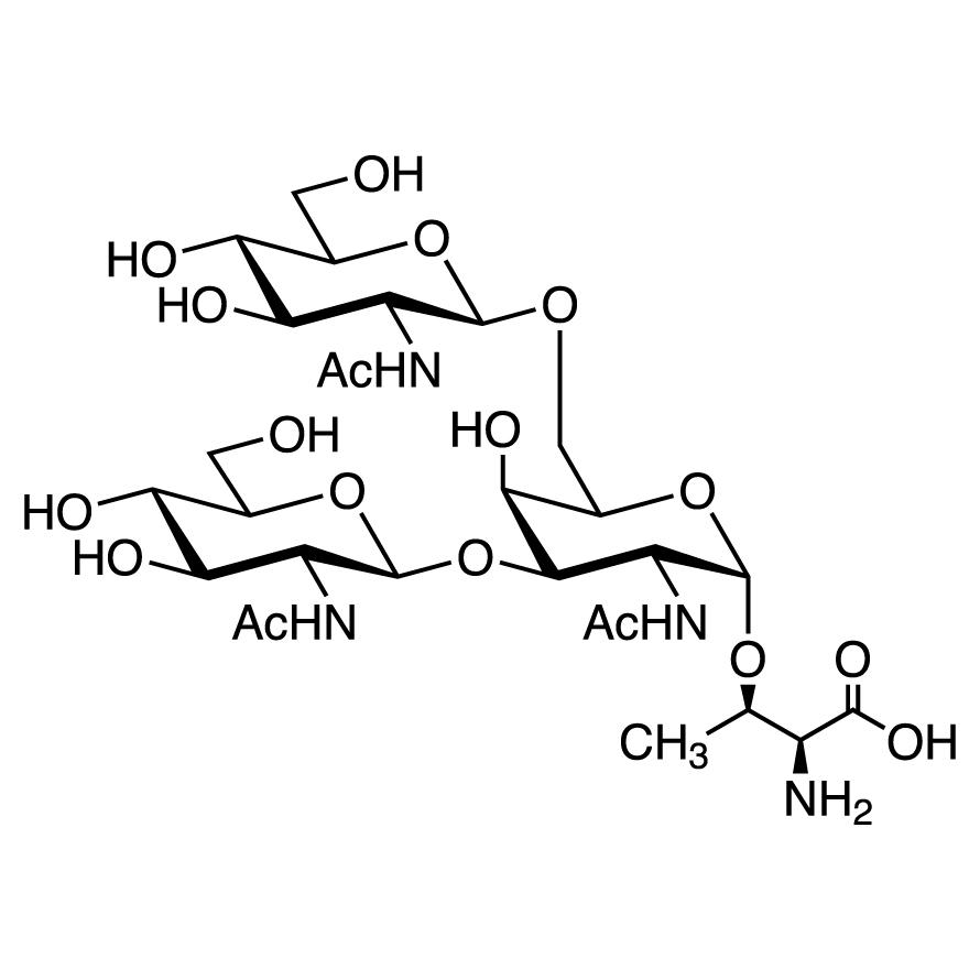 GlcNAc(1-3)[GlcNAc(1-6)]GalNAc--Thr