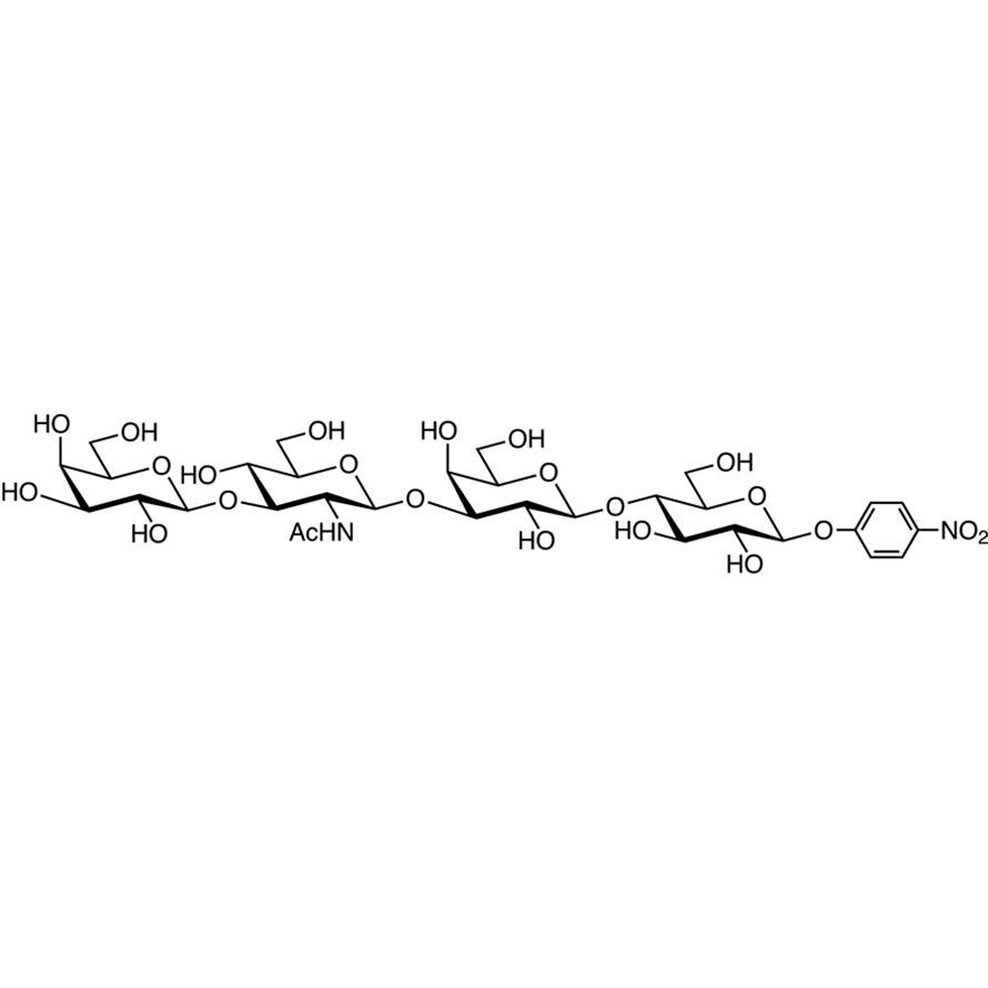 Gal(1-3)GlcNAc(1-3)Gal(1-4)Glc--pNP