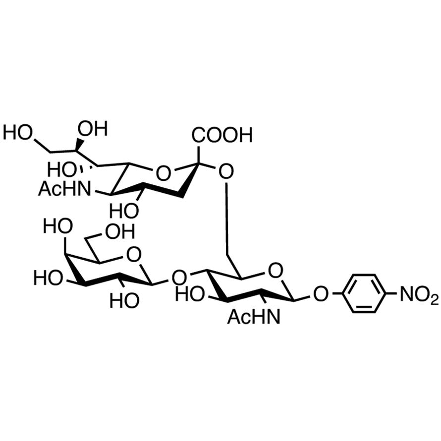 Gal(1-4)[Neu5Ac(2-6)]GlcNAc--pNP