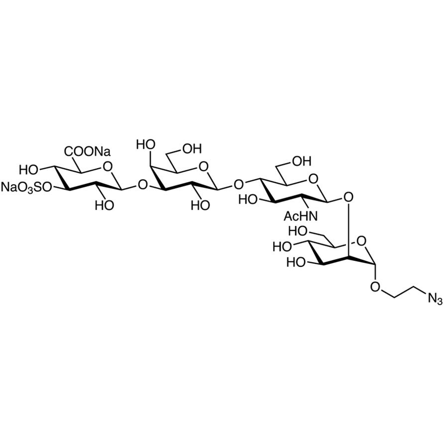 GlcA[3S](1-3)Gal(1-4)GlcNAc(1-2)Man--ethylazide
