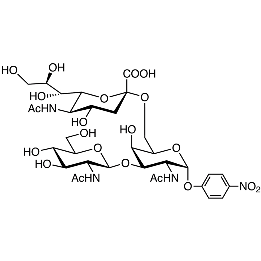 GlcNAc(1-3)[Neu5Ac(2-6)]GalNAc--pNP