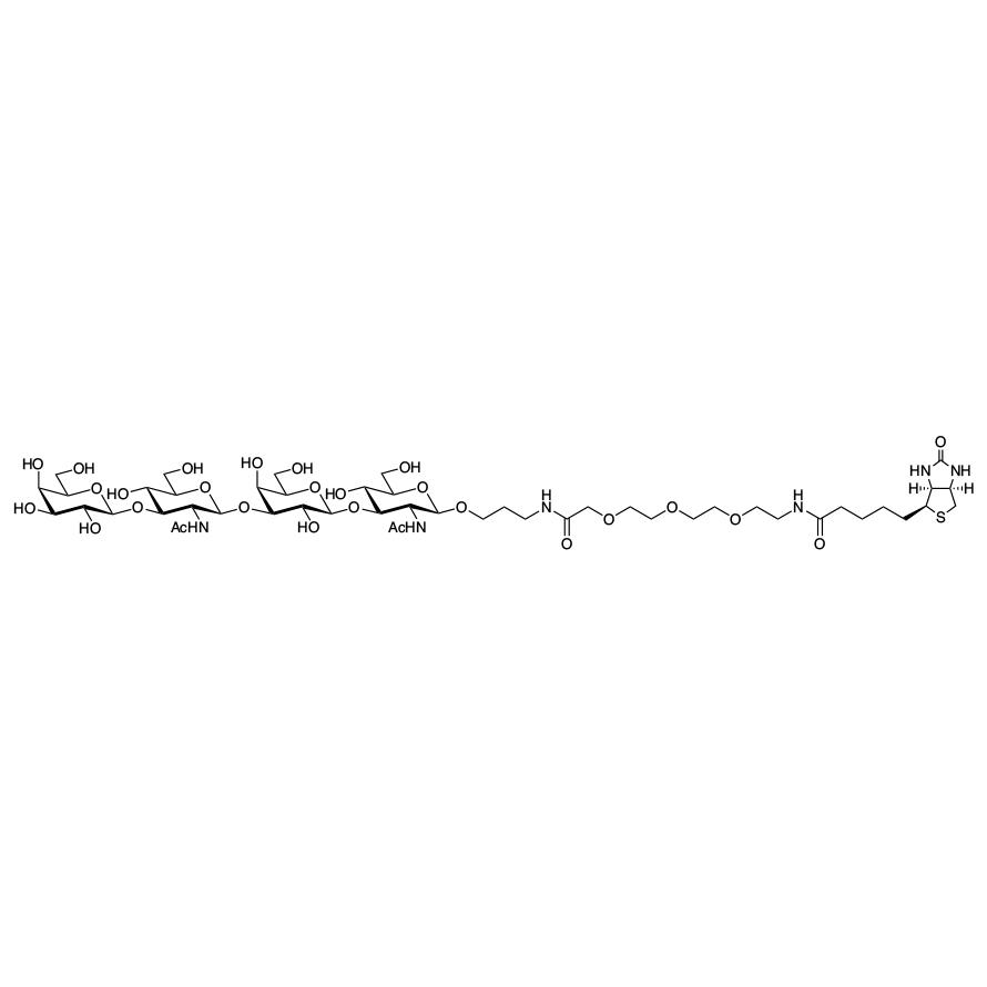 Gal(1-3)GlcNAc(1-3)Gal(1-3)GlcNAc--PEG3-biotin