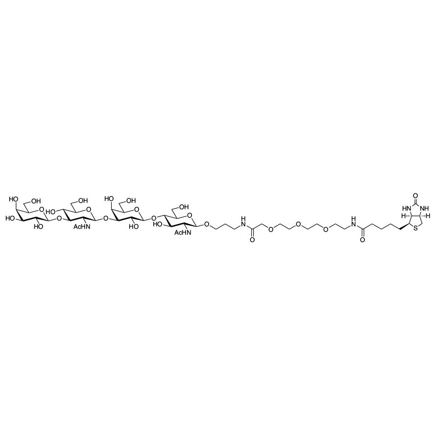 Gal(1-3)GlcNAc(1-3)Gal(1-4)GlcNAc--PEG3-biotin