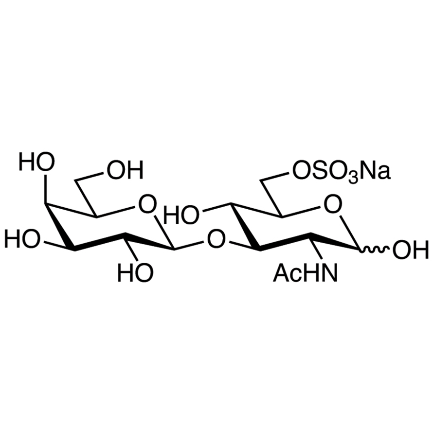 Gal(1-3)GlcNAc[6S]