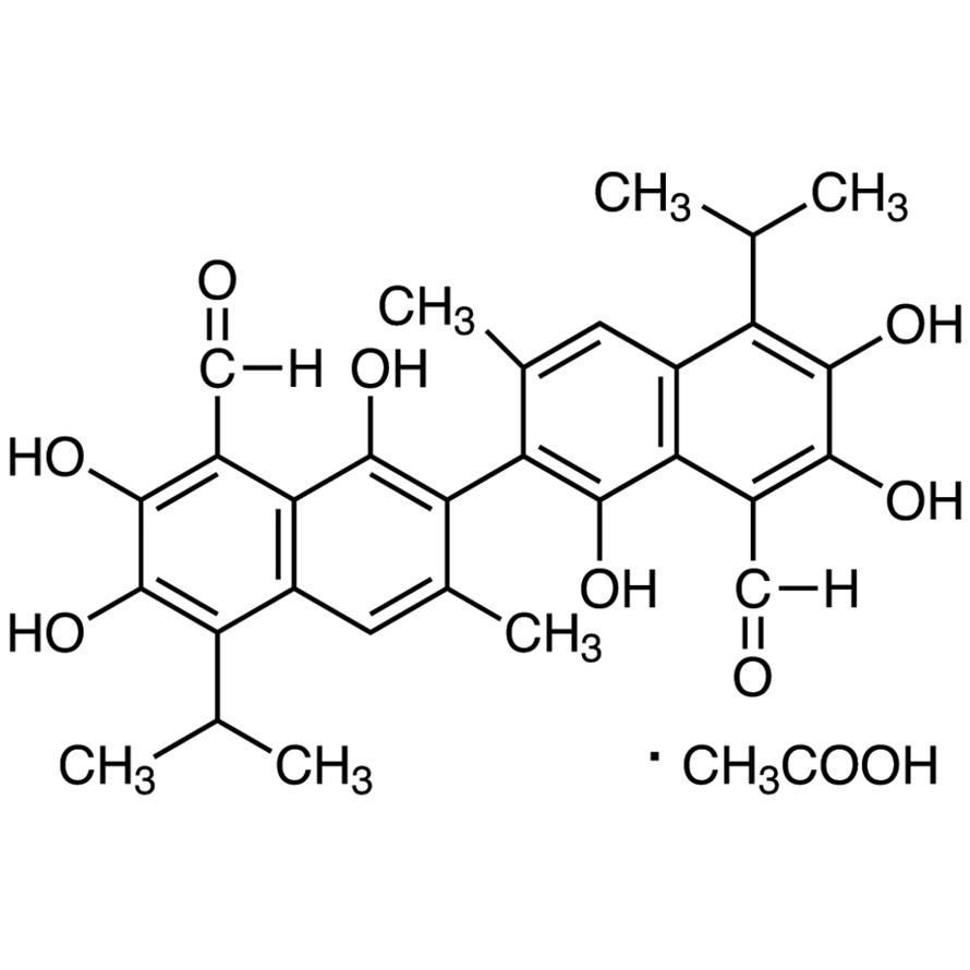 Gossypol Acetic Acid