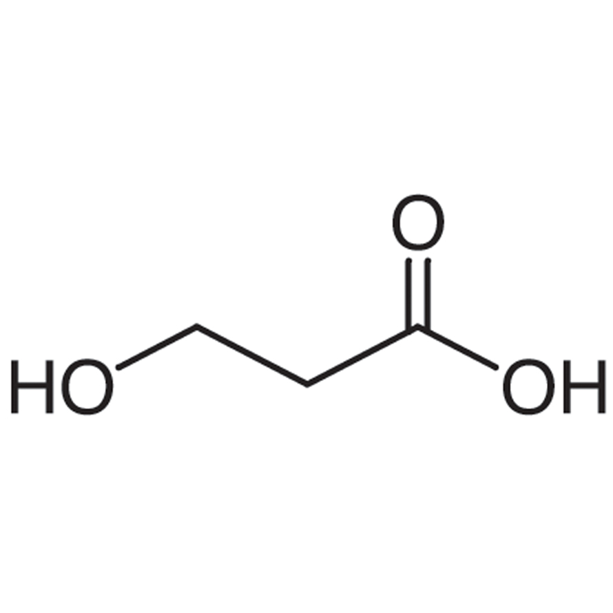 3-Hydroxypropionic Acid (contains varying amounts of 3,3'-Oxydipropionic Acid) (ca. 30% in Water, ca. 3.6mol/L)