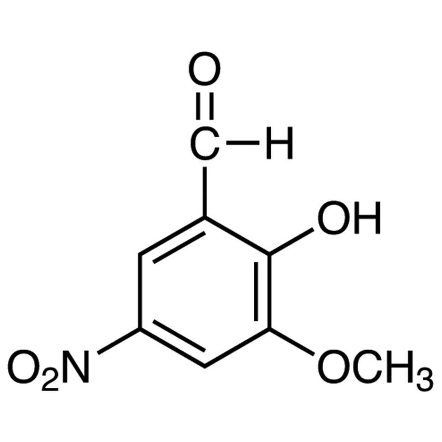 2-Hydroxy-5-nitro-m-anisaldehyde