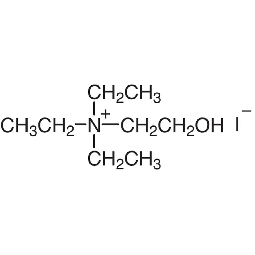 (2-Hydroxyethyl)triethylammonium Iodide