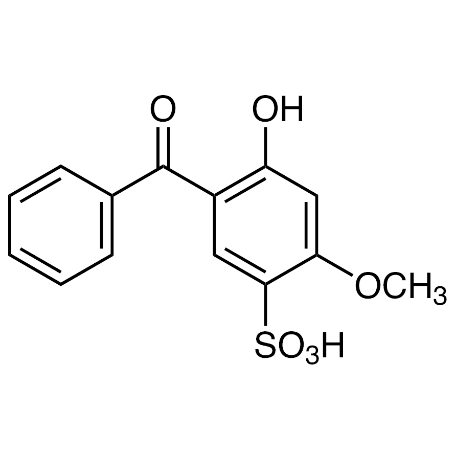 2-Hydroxy-4-methoxybenzophenone-5-sulfonic Acid (contains 5-10% Isopropyl Alcohol)