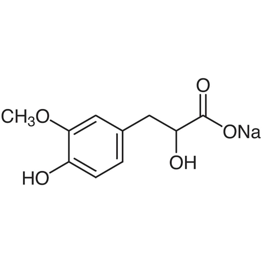 Sodium 3-(4-Hydroxy-3-methoxyphenyl)lactate