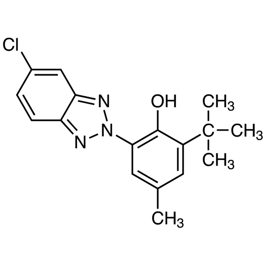 2-(5-Chloro-2-benzotriazolyl)-6-tert-butyl-p-cresol