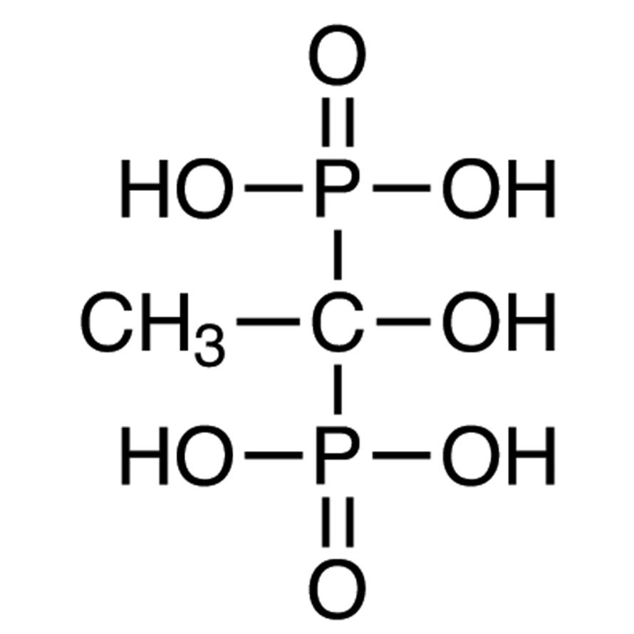 1-Hydroxyethane-1,1-diphosphonic Acid (ca. 60% in Water, ca. 4.2mol/L)