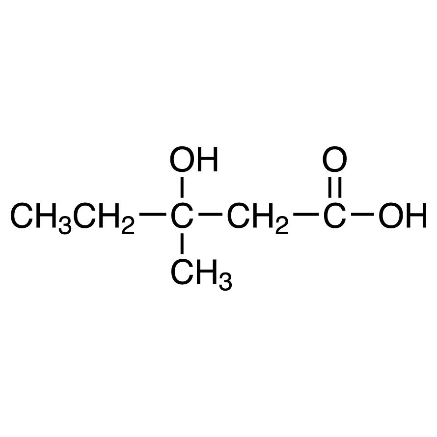 3-Hydroxy-3-methylvaleric Acid