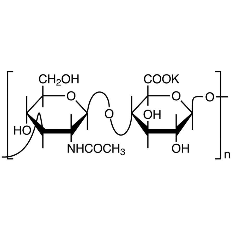 Potassium Hyaluronate from Cockscomb