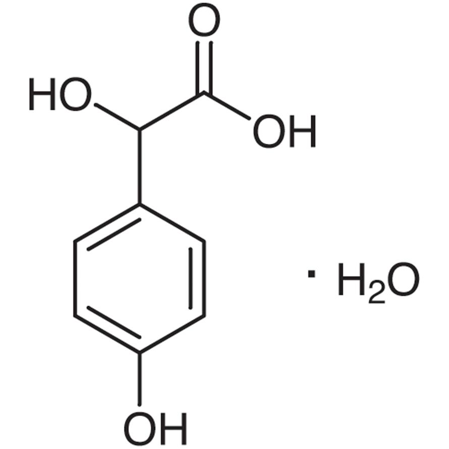 DL-4-Hydroxymandelic Acid Monohydrate