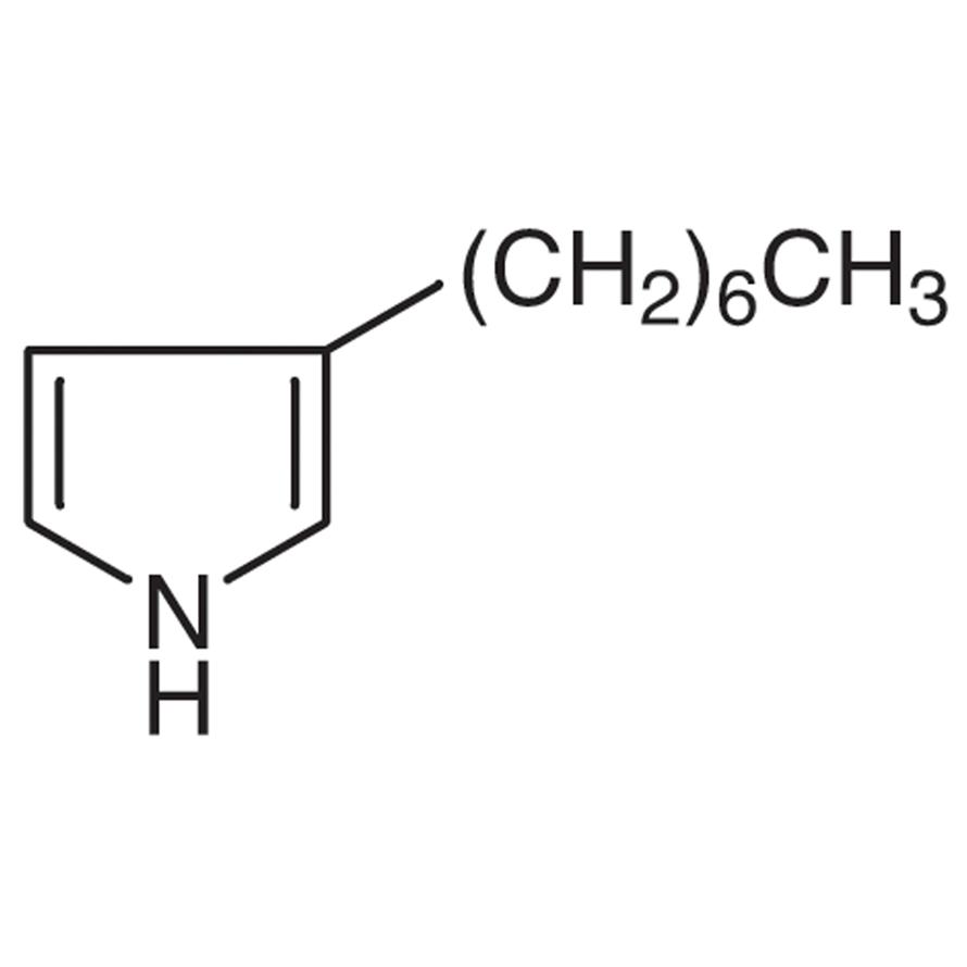 3-Heptylpyrrole
