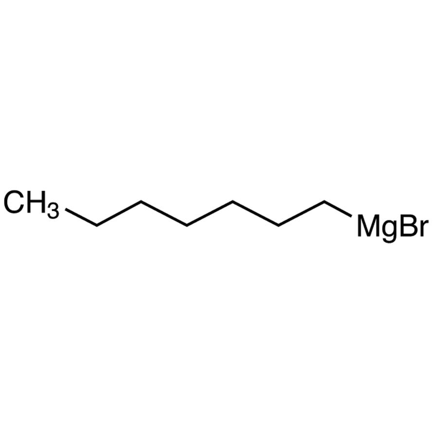 Heptylmagnesium Bromide (21% in Tetrahydrofuran, ca. 1mol/L)