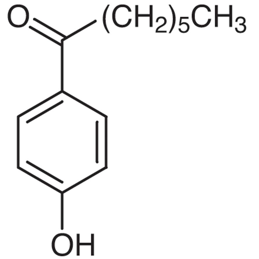 4'-Hydroxyheptanophenone
