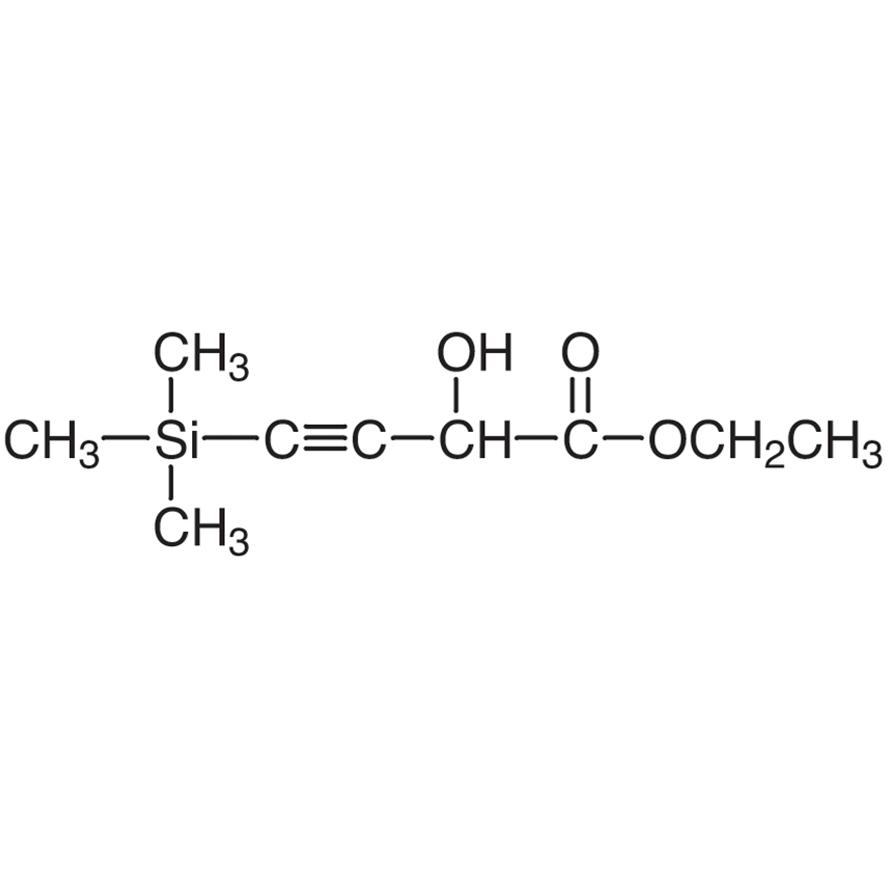 Ethyl 2-Hydroxy-4-(trimethylsilyl)-3-butynoate