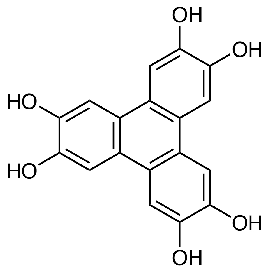 2,3,6,7,10,11-Hexahydroxytriphenylene