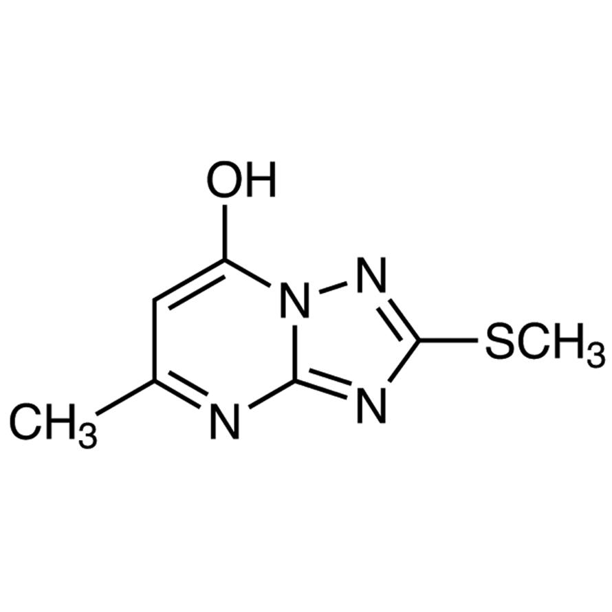 7-Hydroxy-5-methyl-2-methylthio-[1,2,4]triazolo[1,5-a]pyrimidine