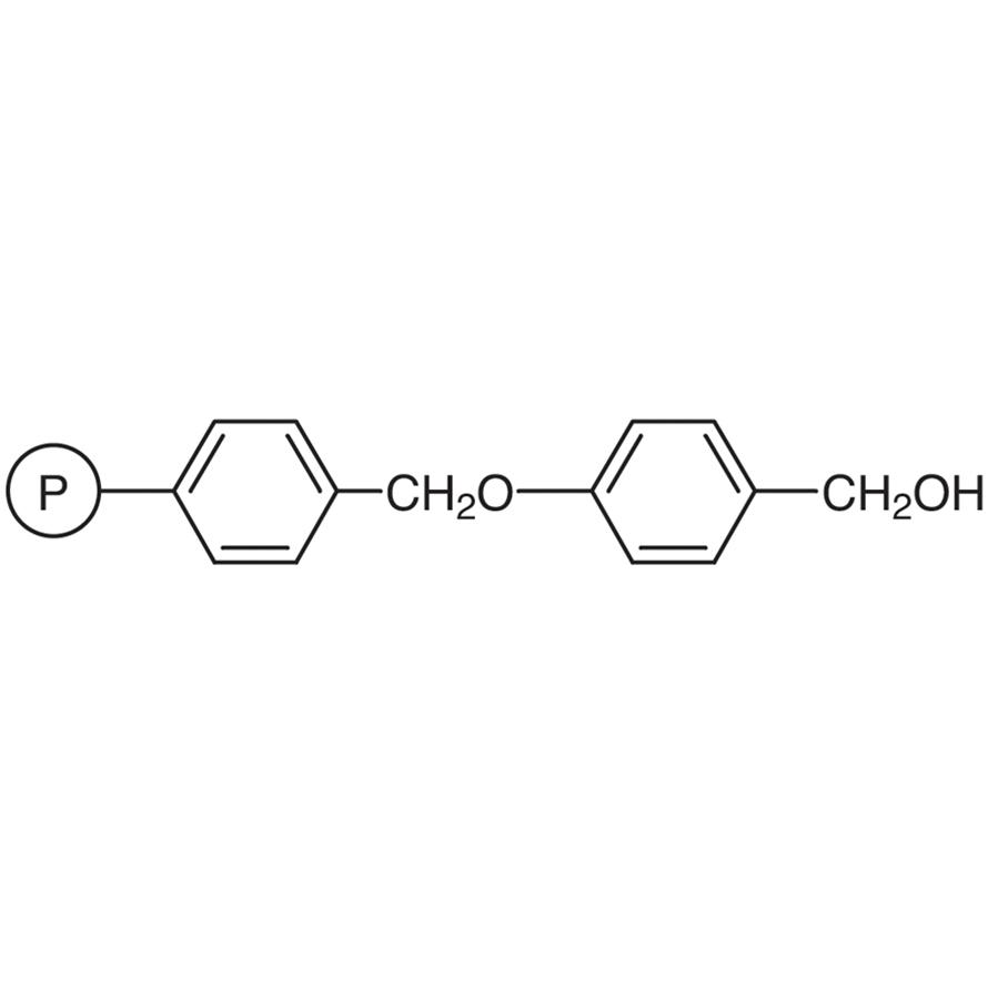 4-(Hydroxymethyl)phenoxymethyl Polystyrene Resin cross-linked with 1% DVB (200-400mesh) (1.0-2.0mmol/g)