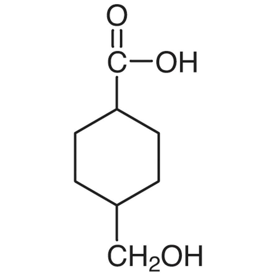 4-(Hydroxymethyl)cyclohexanecarboxylic Acid (cis- and trans- mixture)
