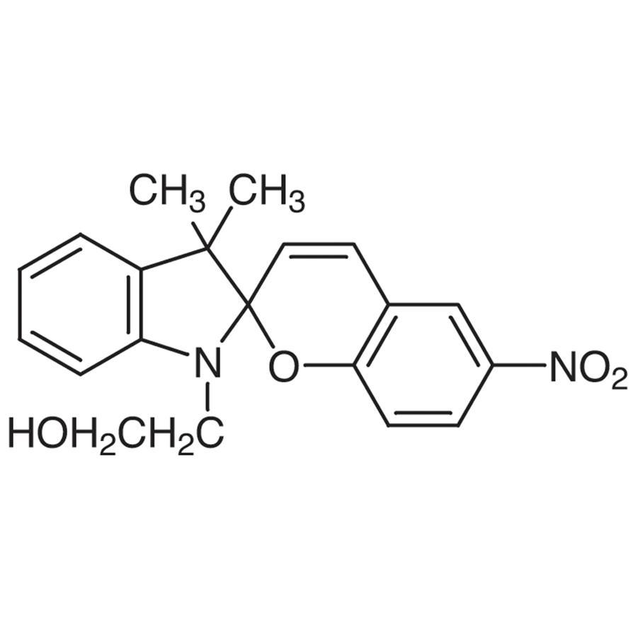 1-(2-Hydroxyethyl)-3,3-dimethylindolino-6'-nitrobenzopyrylospiran