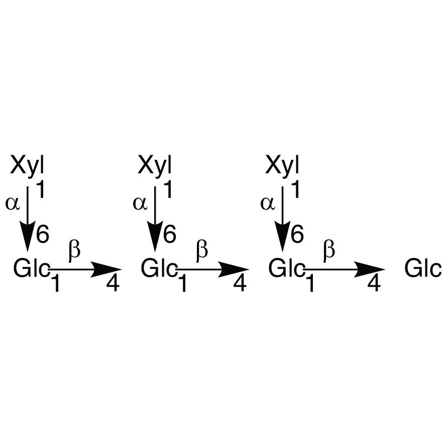 Heptasaccharide Glc4Xyl3