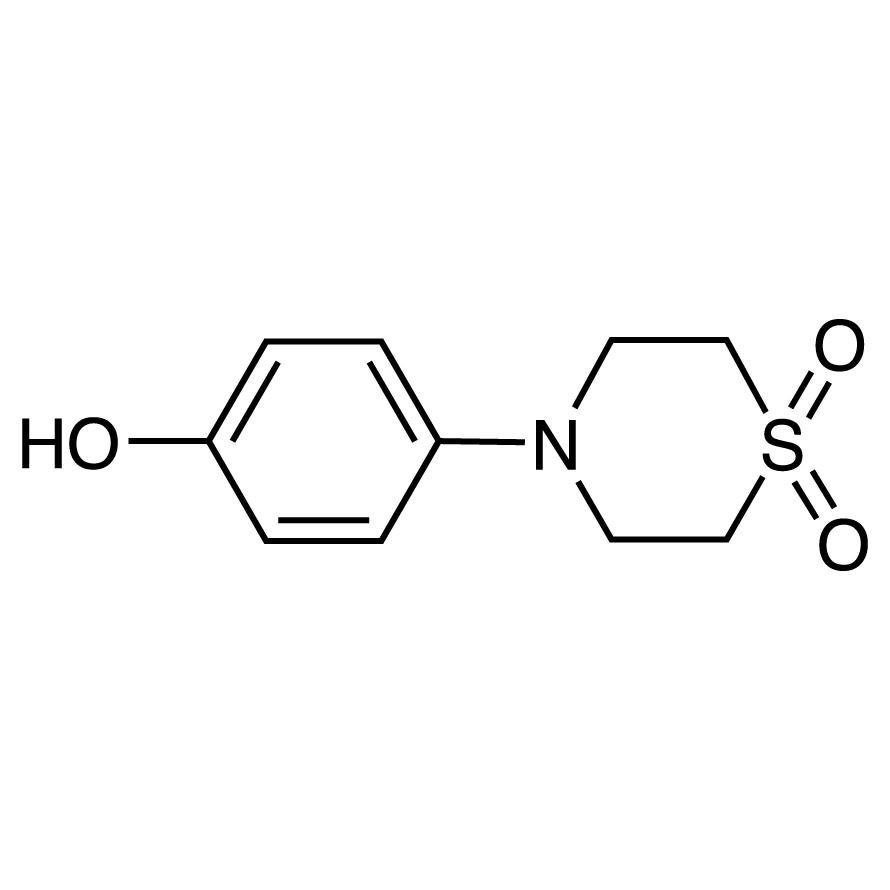 4-(4-Hydroxyphenyl)thiomorpholine 1,1-Dioxide
