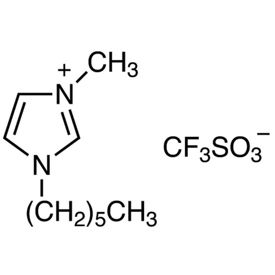 1-Hexyl-3-methylimidazolium Trifluoromethanesulfonate