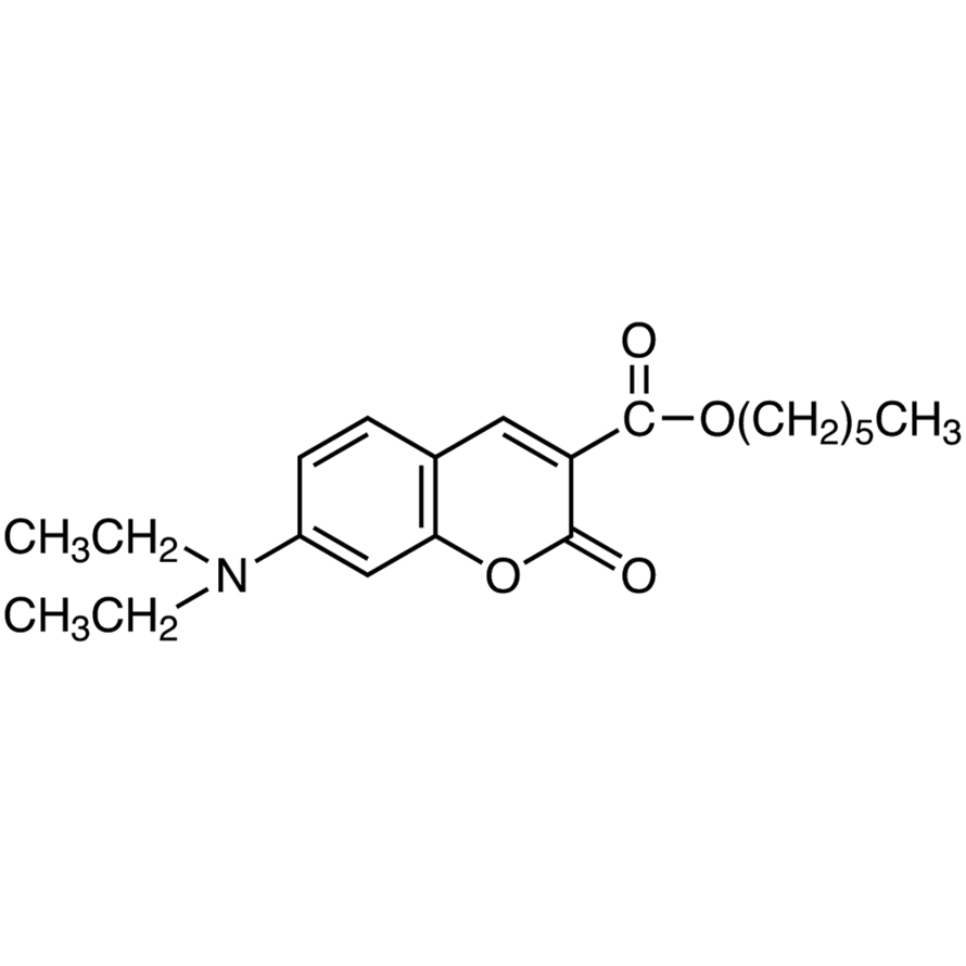 Hexyl 7-(Diethylamino)coumarin-3-carboxylate