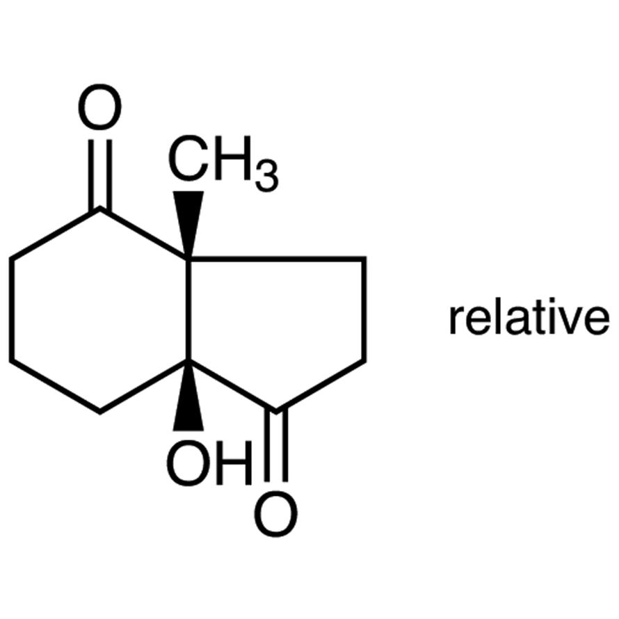 (±)-cis-6-Hydroxy-1-methylbicyclo[4.3.0]nonane-2,7-dione