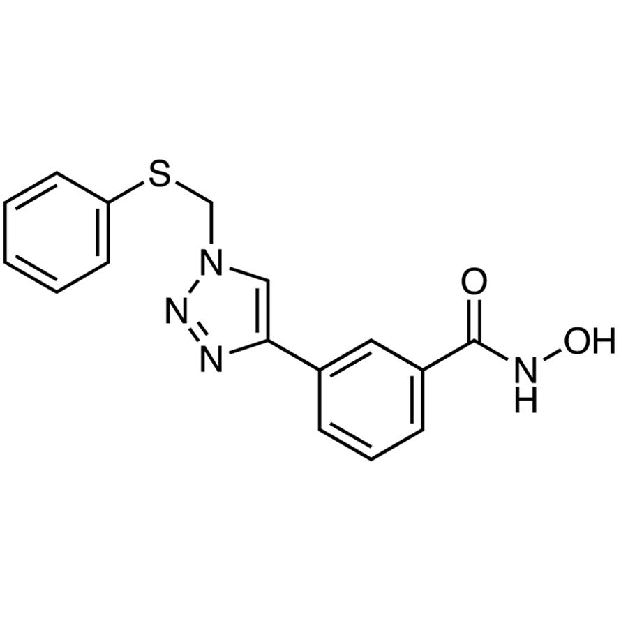 N-Hydroxy-3-[1-(phenylthio)methyl-1H-1,2,3-triazol-4-yl]benzamide