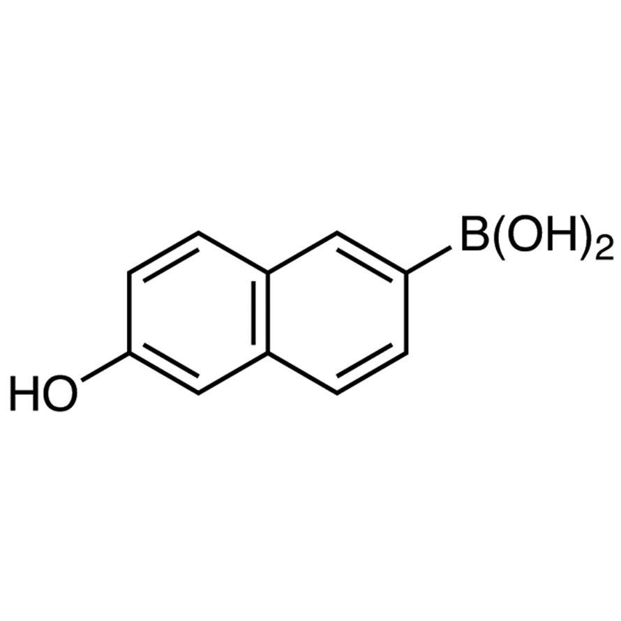 6-Hydroxy-2-naphthaleneboronic Acid (contains varying amounts of Anhydride)