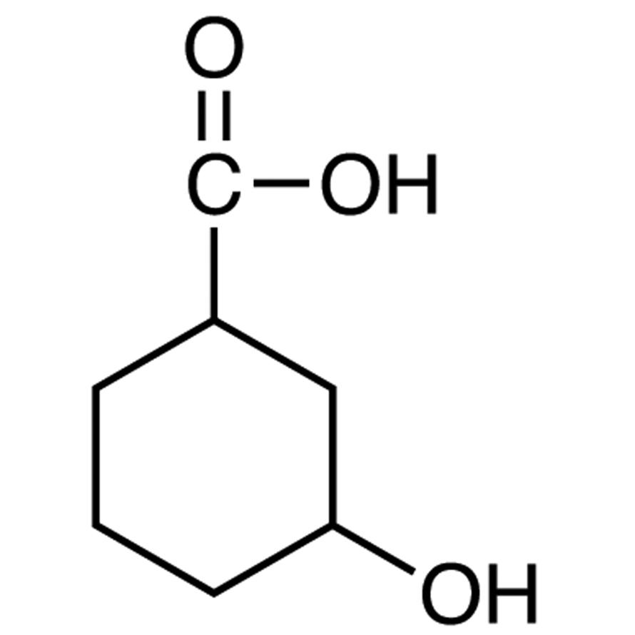 3-Hydroxycyclohexanecarboxylic Acid (cis- and trans- mixture)