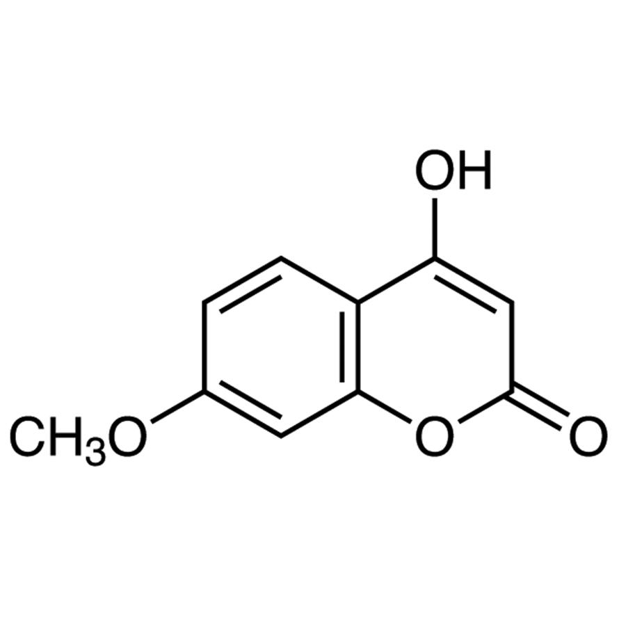4-Hydroxy-7-methoxycoumarin