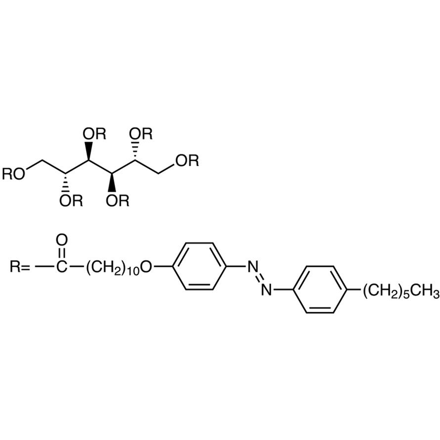 1,2,3,4,5,6-Hexa-O-[11-[4-(4-hexylphenylazo)phenoxy]undecanoyl]-D-mannitol