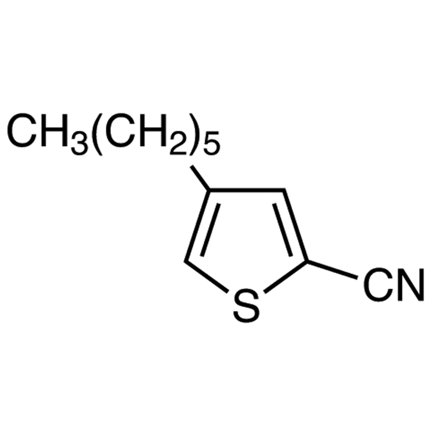 4-Hexylthiophene-2-carbonitrile