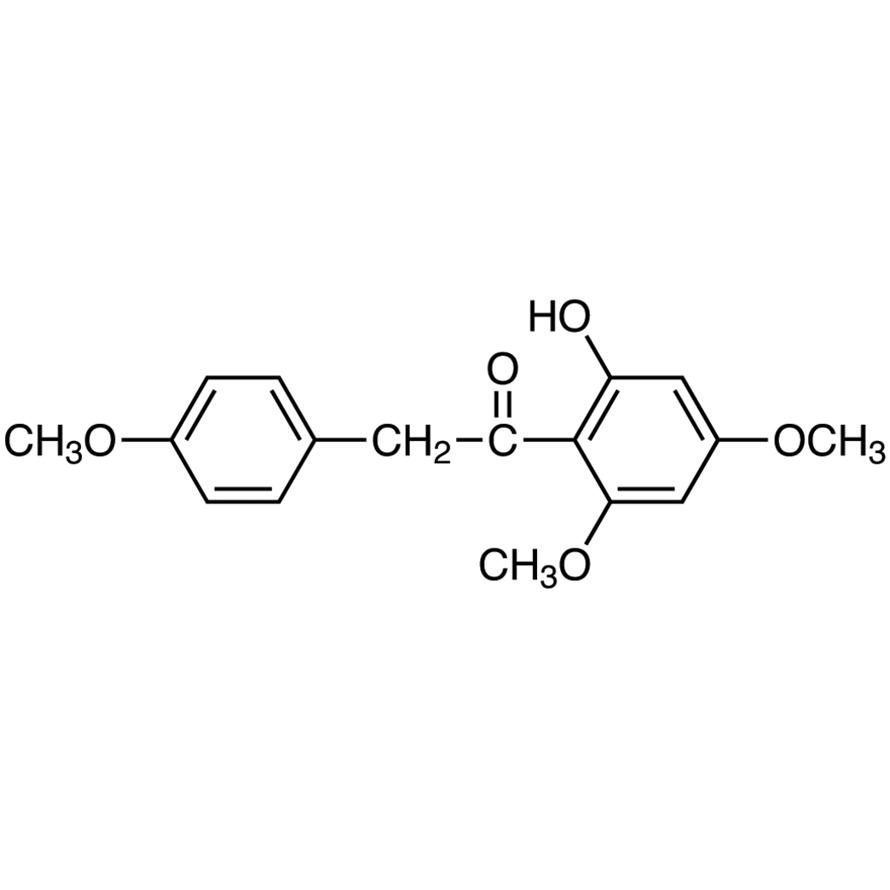 2'-Hydroxy-4',6'-dimethoxy-2-(4-methoxyphenyl)acetophenone